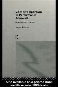 Ebook in inglese Cognitive Approach to Performance Appraisal DeNisi, Angelo
