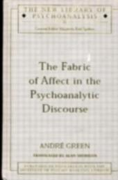 Fabric of Affect in the Psychoanalytic Discourse