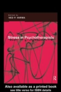 Ebook in inglese Stress in Psychotherapists
