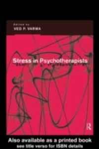Ebook in inglese Stress in Psychotherapists -, -