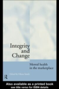 Ebook in inglese Integrity and Change -, -