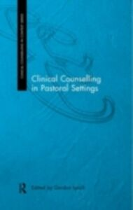 Foto Cover di Clinical Counselling in Pastoral Settings, Ebook inglese di  edito da Taylor and Francis