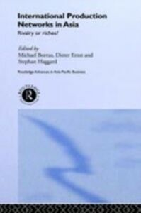 Ebook in inglese International Production Networks in Asia -, -