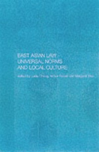 Ebook in inglese East Asian Law -, -