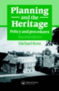 Foto Cover di Planning and the Heritage, Ebook inglese di Michael Ross, edito da Taylor and Francis