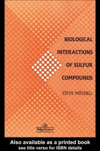 Ebook in inglese Biological Interactions Of Sulfur Compounds