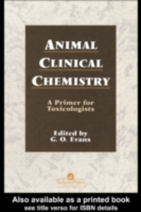 Ebook in inglese Animal Clinical Chemistry -, -