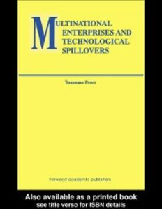 Ebook in inglese Multinational Enterprises and Technological Spillovers Perez, Tommaso
