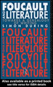 Foucault and Literature