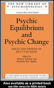 Ebook in inglese Psychic Equilibrium and Psychic Change