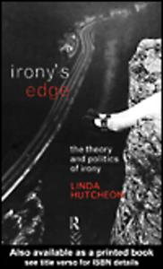 Ebook in inglese Irony's Edge Hutcheon, Linda