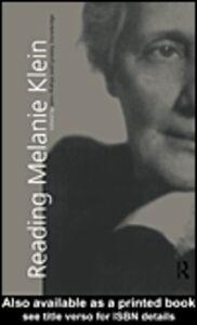 Ebook in inglese Reading Melanie Klein