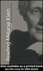 Reading Melanie Klein