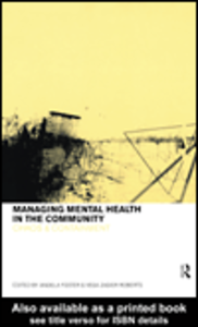 Ebook in inglese Managing Mental Health in the Community