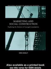 Marketing and Social Construction