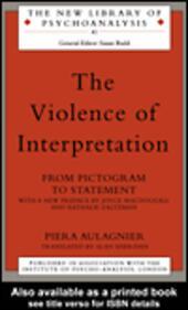 The Violence of Interpretation