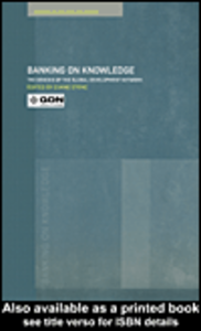 Ebook in inglese Banking on Knowledge