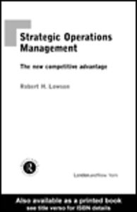 Ebook in inglese Strategic Operations Management Lowson, Robert H.