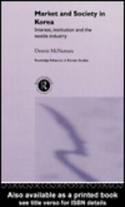 Ebook in inglese Market and Society in Korea McNamara, Dennis