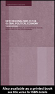 Ebook in inglese New Regionalism in the Global Political Economy