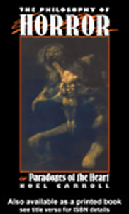 Ebook in inglese The Philosophy of Horror Carroll, Noel