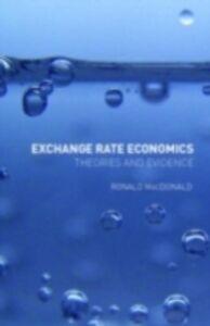 Foto Cover di Exchange Rate Economics, Ebook inglese di Ronald MacDonald, edito da Taylor and Francis