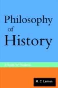 Ebook in inglese Philosophy of History Lemon, M.C.