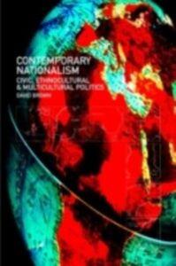 Foto Cover di Contemporary Nationalism, Ebook inglese di David Brown, edito da Taylor and Francis