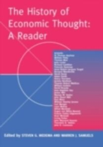 Foto Cover di History of Economic Thought: A Reader, Ebook inglese di  edito da Taylor and Francis