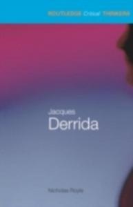 Ebook in inglese Jacques Derrida Royle, Nicholas