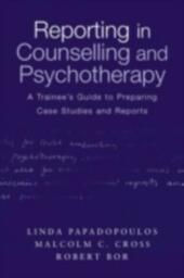 Reporting in Counselling and Psychotherapy