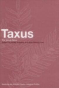 Foto Cover di Taxus, Ebook inglese di  edito da CRC Press