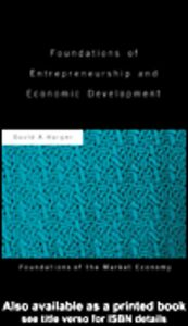 Ebook in inglese Foundations of Entrepreneurship and Economic Development Harper, David A.