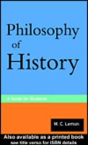 Foto Cover di Philosophy of History, Ebook inglese di M.C. Lemon, edito da