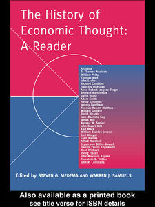 Ebook in inglese The History of Economic Thought