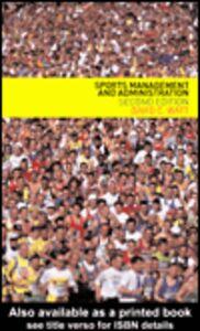 Foto Cover di Sports Management and Administration, Ebook inglese di David Watt, edito da