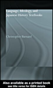 Ebook in inglese Language, Ideology and Japanese History Textbooks Barnard, Christopher
