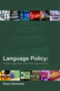 Ebook in inglese Language Policy Shohamy, Elana