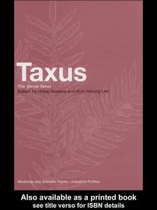 Ebook in inglese Taxus