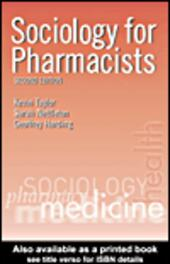 Sociology for Pharmacists