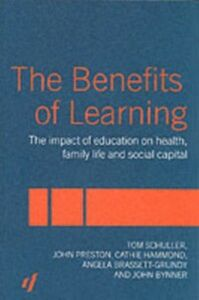 Foto Cover di Benefits of Learning, Ebook inglese di AA.VV edito da Taylor and Francis