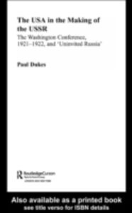 Ebook in inglese USA in the Making of the USSR Dukes, Paul