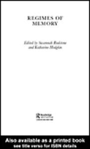 Foto Cover di Regimes of Memory, Ebook inglese di Katharine Hodgkin,Susannah Radstone, edito da