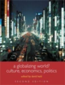 Ebook in inglese Globalizing World? -, -