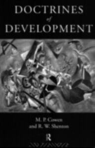 Foto Cover di Doctrines Of Development, Ebook inglese di M. P. Cowen, edito da Taylor and Francis