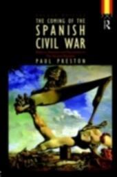 Coming of the Spanish Civil War