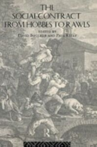 Ebook in inglese Social Contract from Hobbes to Rawls Boucher, David , Kelly, Paul