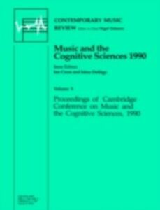 Ebook in inglese Music and the Cognitive Sciences CROS, ROSS