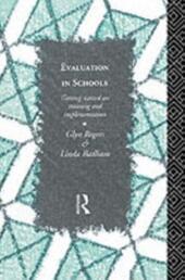 Evaluation in Schools