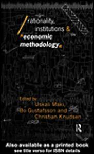 Foto Cover di Rationality, Institutions and Economic Methodology, Ebook inglese di AA.VV edito da